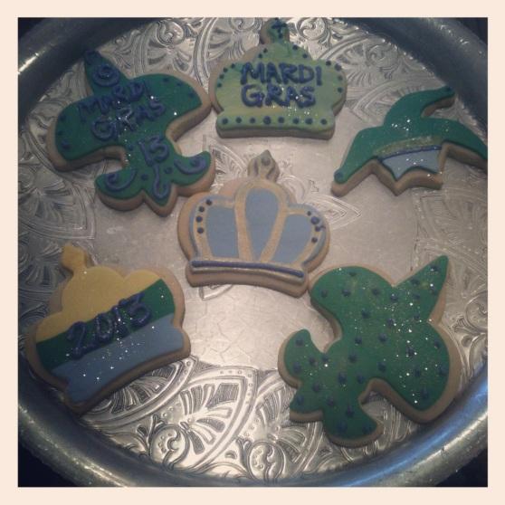 Mardi Gras Cookies!!!